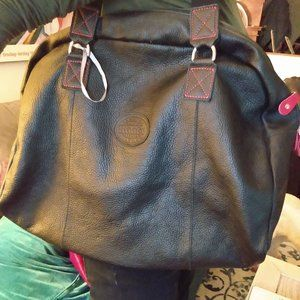 ROOTS - all leather bag